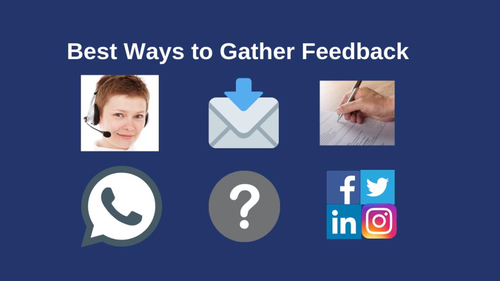 Best Ways to Gather feedback